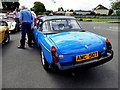 H4572 : Classic car rally Marie Curie Cancer Care, Omagh (16) by Kenneth  Allen