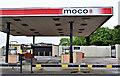 J3161 : Closed petrol station, Ballymacbrennan near Lisburn (June 2017) by Albert Bridge