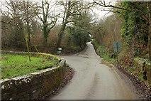 SX0877 : Junction at Gam Bridge by Derek Harper