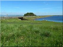 NS4760 : Glenburn Reservoir: spillway by Lairich Rig