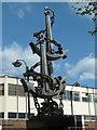 SK2004 : Tamworth town centre - Colin Grazier memorial by Chris Allen