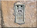 NY9864 : Ordnance Survey Flush Bracket 2360 by Peter Wood