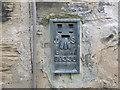 NZ2237 : Ordnance Survey Flush Bracket S9336 by Peter Wood