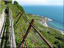 SY7072 : Coast path on Portland by Gareth James