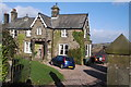 SE0334 : The Old Vicarage, Oxenhope. by Andrew Riley