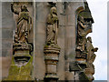 NT2763 : Rosslyn Chapel, Carvings and Statues (1) by David Dixon