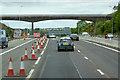 NT1282 : Bridge over the A90 near Dunfermline by David Dixon
