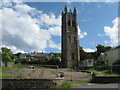 NS0965 : St Brendan's Church Tower, Rothesay by M J Richardson