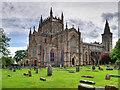 NT0987 : Dunfermline Abbey by David Dixon