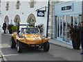 SW6225 : Porthleven - beach buggy and restaurant by Chris Allen