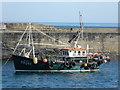 SW6225 : Fishing vessel - Porthleven harbour by Chris Allen