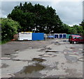 SO2913 : Northeast corner of Westgate Yard, Llanfoist by Jaggery