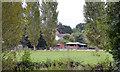 SP2965 : Suburban sheep, Myton, Warwick by Robin Stott