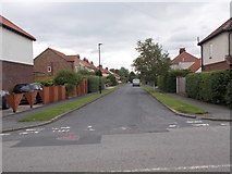 SE5947 : Myrtle Avenue - Acaster Lane by Betty Longbottom