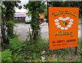 SO2913 : Daisy Chain Nursery name sign, Llanfoist by Jaggery