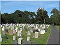 TL6300 : Cemetery at St. Mary's Church, Fryerning by Roger Jones