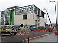 NT2472 : Dundee Street and the new Boroughmuir High School by M J Richardson