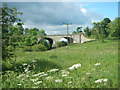 NY9371 : Disused Railway Bridge at Chollerton by Paul Franks