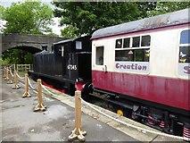 SD8789 : Wensleydale Railway by Oliver Dixon