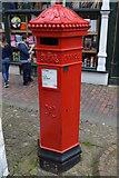 TQ5838 : Replica postbox, The Pantiles by N Chadwick