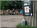 SE1838 : Milestone at Dobson Locks by Stephen Craven