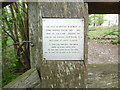 SU7890 : Inscription on stile and gate at Fingest Wood by David Hillas
