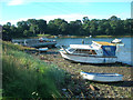 NO7056 : Beached boats by Mops Pool by Andrew Diack