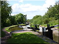 SO9868 : Locks 47 to 45, Tardebigge flight by Jeff Gogarty