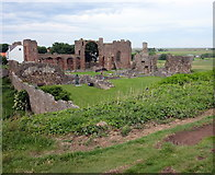 NU1241 : Lindisfarne Priory by PAUL FARMER