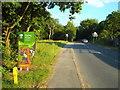 TQ3995 : Bury Road, Sewardstonebury near Chingford by Malc McDonald