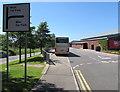 SS9082 : West Car Park and Main Car Park directions sign, Bridgend Designer Outlet by Jaggery