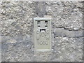 SW5631 : Ordnance Survey Flush Bracket 1808 by Peter Wood