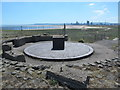 NZ5528 : Old gun emplacement on the South Gare breakwater by Mike Quinn