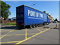 ST3090 : Port of Tyne lorry in Malpas, Newport by Jaggery