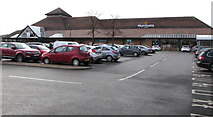 SO9568 : Morrisons supermarket in Bromsgrove by Jaggery