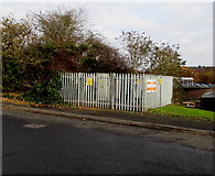 SO9568 : Buntsford Park Road electricity substation, Bromsgrove  by Jaggery