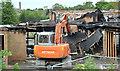J3875 : Former Joss Cardwell Centre (demolition), Belfast - June 2017(1) by Albert Bridge