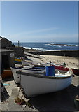 SW3526 : Sennen  Cove harbour by pam fray