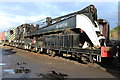 SK5419 : Great Central Railway - Ransomes & Rapier breakdown crane by Chris Allen