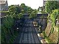 SK3447 : Joseph Street railway bridge by Alan Murray-Rust