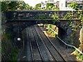 SK3447 : George Street railway bridge by Alan Murray-Rust