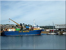 SW4730 : GRY Maritha, Penzance Harbour by pam fray