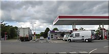 TL8820 : Esso filling station at Feering services by David Smith