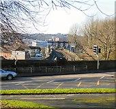 SJ9698 : View towards Stalybridge Station by Gerald England