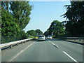 SJ6271 : Whitegate Road crossing the A556 by Colin Pyle