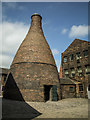SJ9143 : Bottle Kiln, Gladstone Pottery, Longton by Brian Deegan