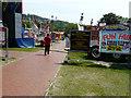 TR3141 : Entrance to the fun fair, Pencester Gardens by John Baker