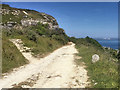 SY6971 : South West Coast Path near Easton by David Dixon