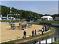 SJ4956 : International Arena at Bolesworth International Horse Show 2017 by Jonathan Hutchins