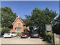 SJ5550 : Cholmondeley Arms: the 'Headmaster's House' by Jonathan Hutchins